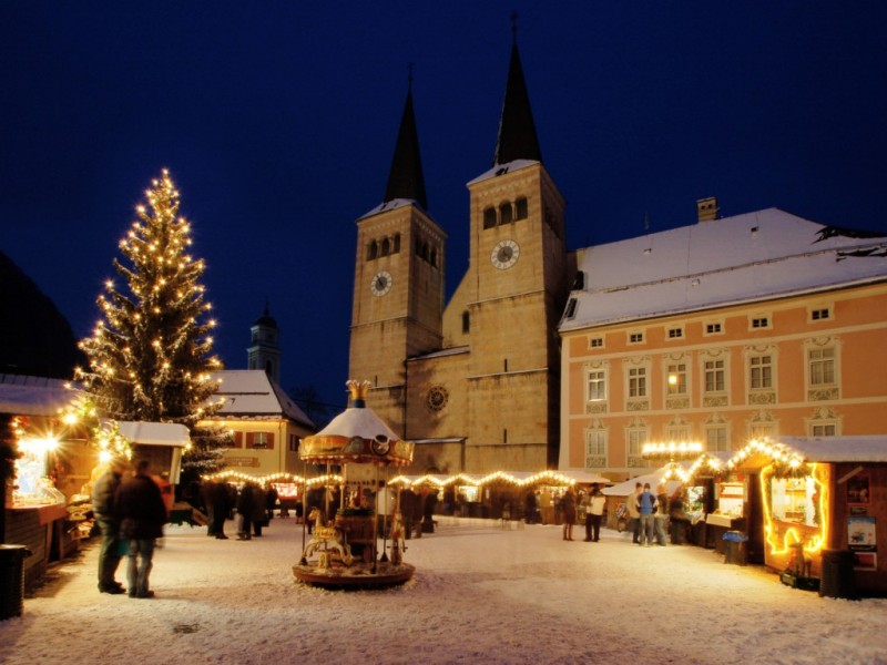Weihnachtsmarkt Berchtesgaden - Hotel Bergheimat