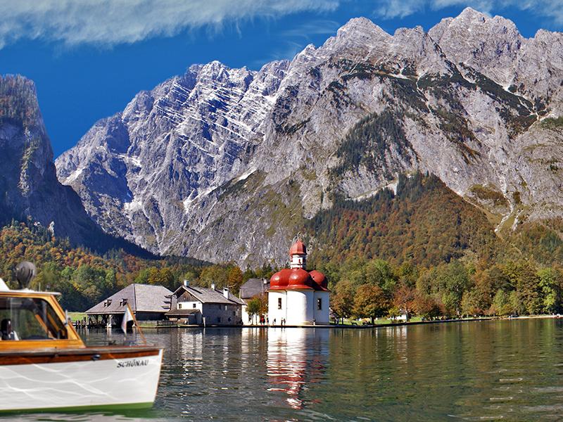 Urlaub am Königssee - St Bartholomä - Hotel Bergheimat