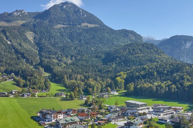 Lage Hotel Bergheimat Königssee