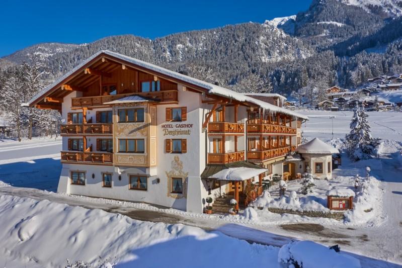 Winterurlaub Berchtesgadener Land - Hotel Bergheimat